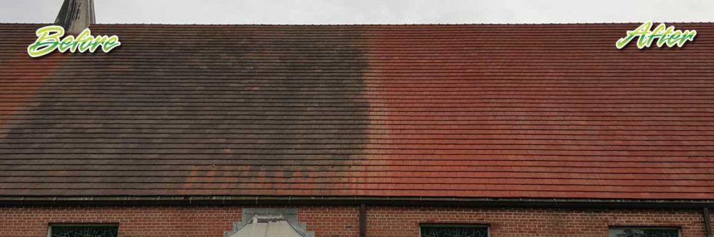 roof cleaning power washing nj