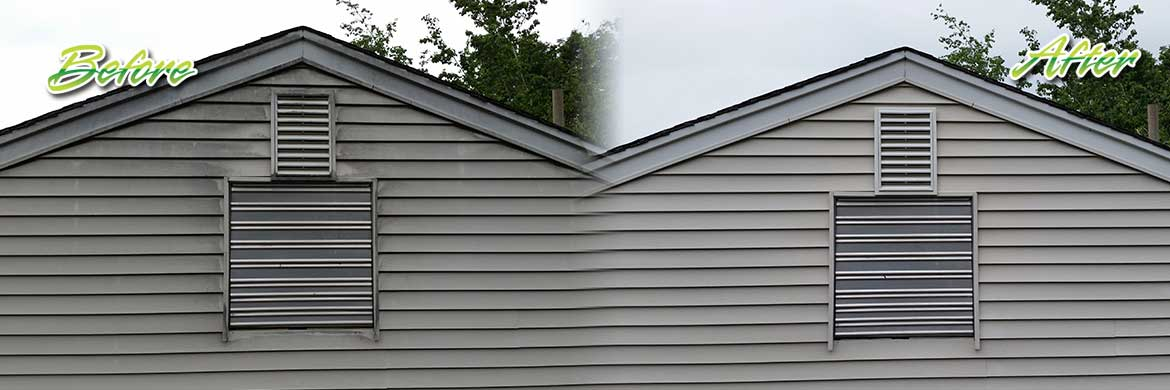 vinyl siding cleaning