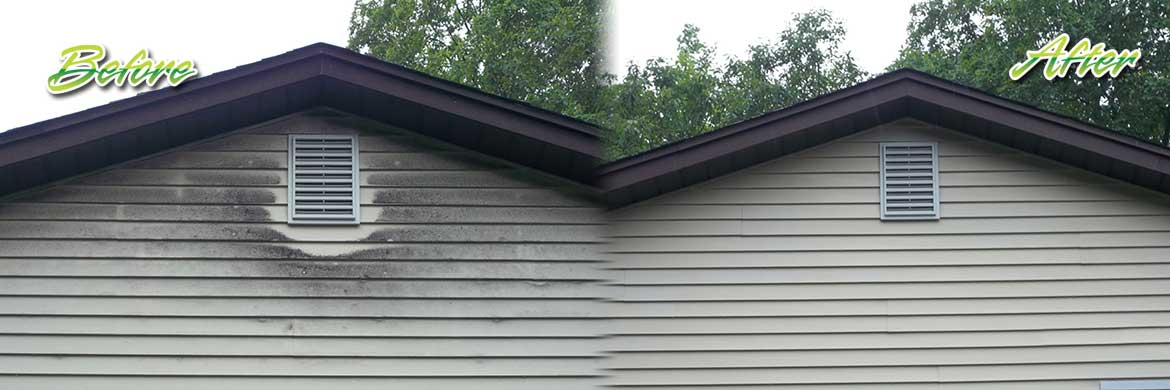 Soft Wash Siding Cleaning Gentle Siding Cleaning Aqua