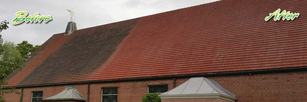 soft washing roofs Hackensack